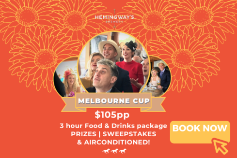 Book for Melbourne Cup